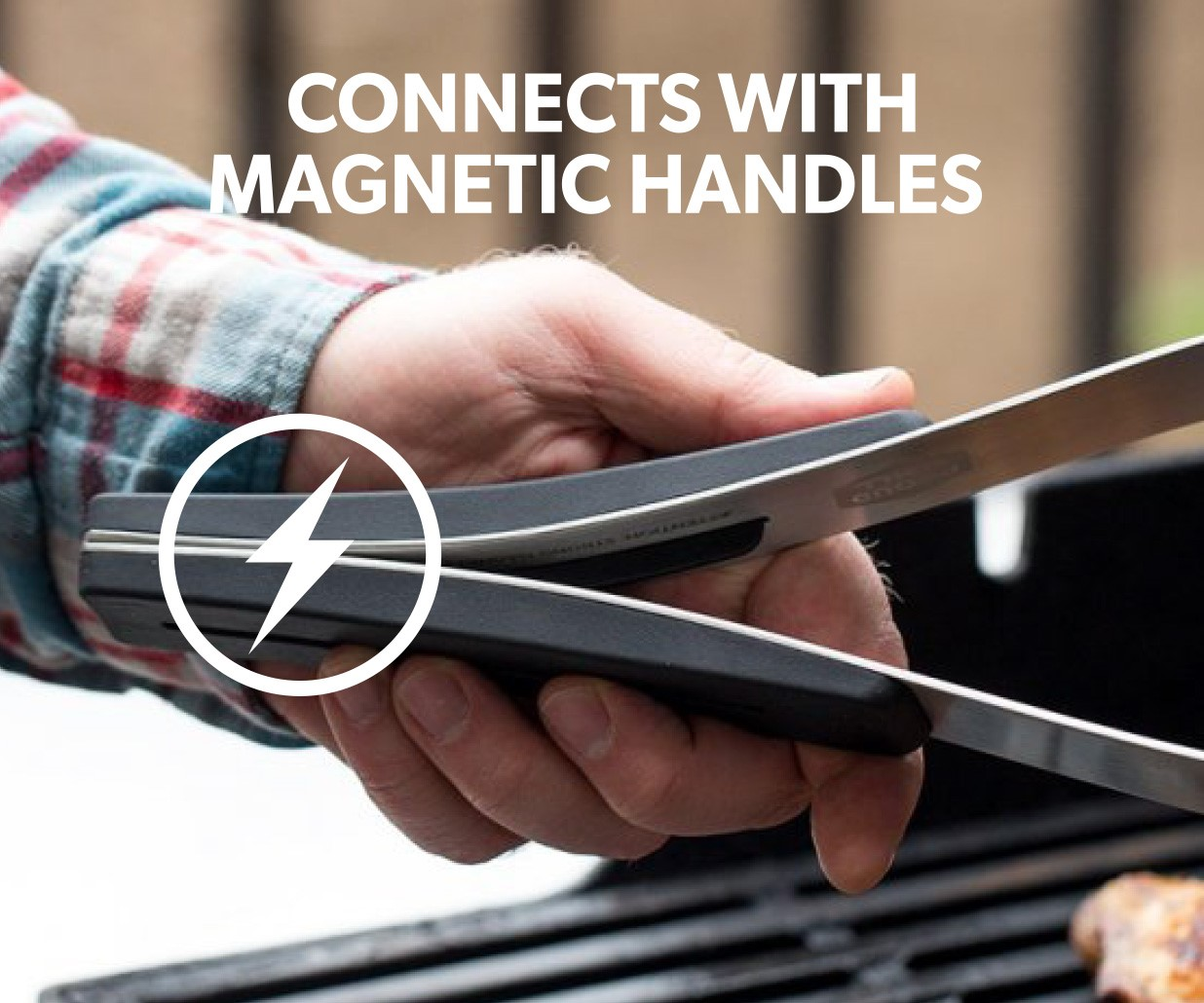 CONNECT IT MAGNETIC BBQ TOOL SET