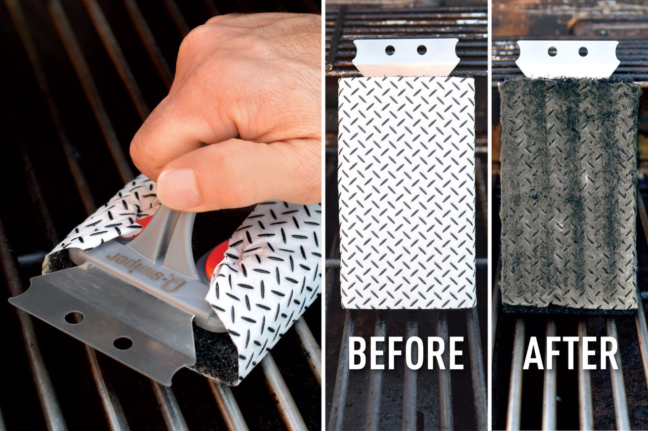 The Q-SWIPER™ BBQ Grill Cleaner | Spark Innovations Product Development