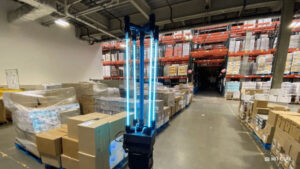 CSAIL robot disinfects Greater Boston Food Bank